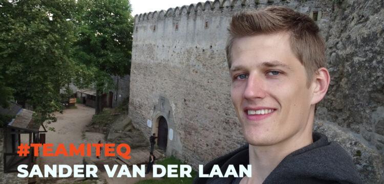 Meet #teamITEQ: Sander van der Laan